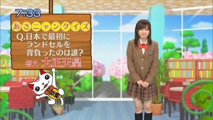 160404合格モーニング 紺野あさ美 (1)
