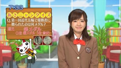 160406合格モーニング 紺野あさ美 (1)