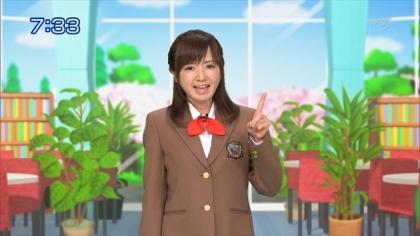 160411 合格モーニング 紺野あさ美 (2)