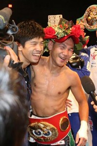 IBF世界ミニマム級王者の高山勝成 vs WBO世界同級王者の田中恒成   大晦日はお預け?
