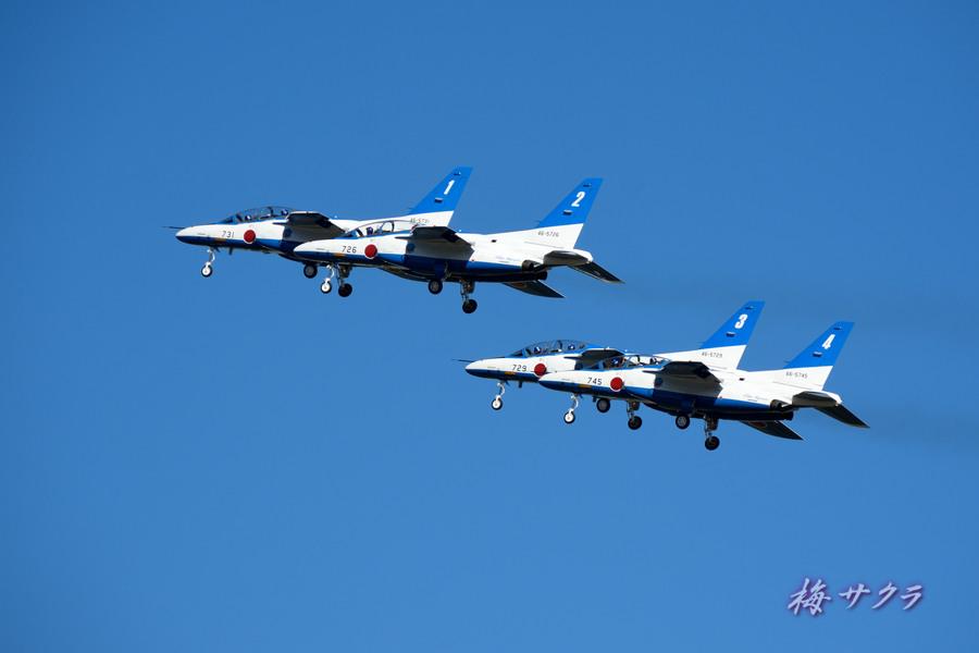 入間航空祭2ブルーインパルス2変更済