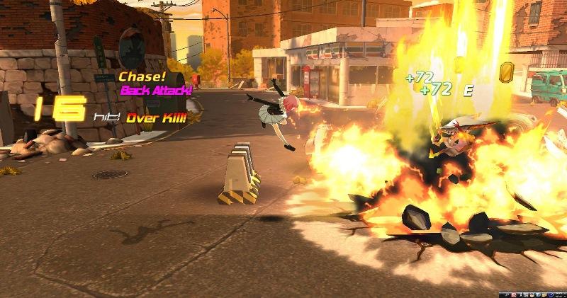 基本プレイ無料の新作サイキックアクションオンラインゲーム『クローザーズ』  ミコトのスキルリニューアルアップデートを配信