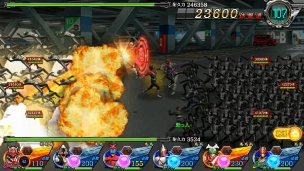 基本プレイ無料のブラウザタワーディフェンスゲーム『仮面ライダーメガトンスマッシュ』 スマッシュパス「仮面ライダーウィザードフレイムドラゴン」を進化させる第2回進化クエストを開催