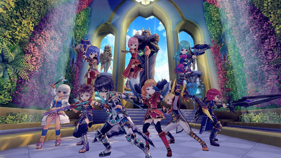 基本プレイ無料の新作クロスジョブファンタジーオンラインゲーム『星界神話 -ASTRAL TALE-』 キャラクター育成要素を紹介するチュートリアルムービーを公開