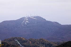 手稲山初冠雪