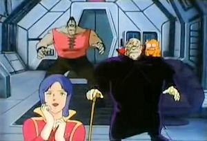 連合宇宙軍の登場に喜ぶマチュア