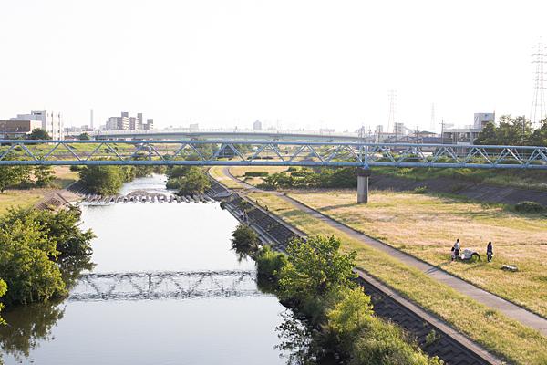 川沿い風景-5
