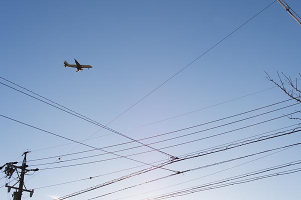 電線とフジドリームエアラインズ