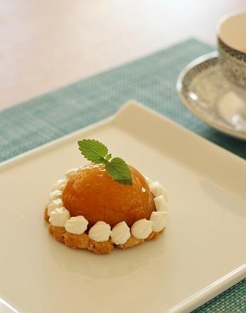 りんごのお茶菓子2