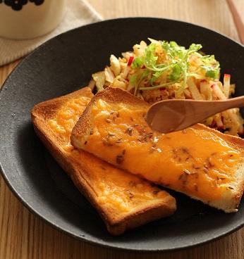 クミン蜂蜜チーズトースト2