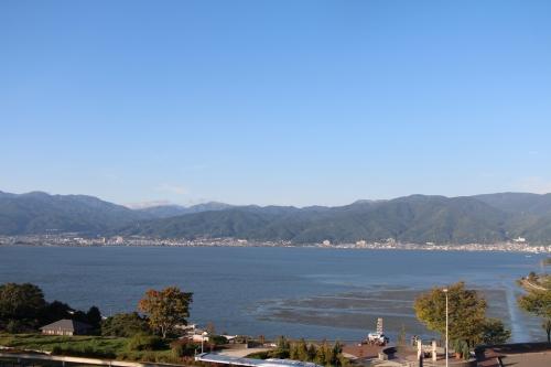 諏訪湖SA