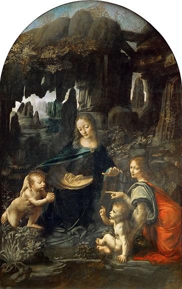 『岩窟の聖母』 レオナルド・ダ・ヴィンチ