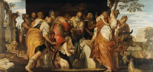 『ダビデの塗油』 パオロ・ヴェロネーゼ