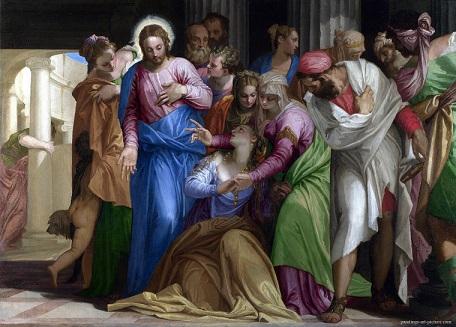 『マグダラのマリアの改宗』 パオロ・ヴェロネーゼ