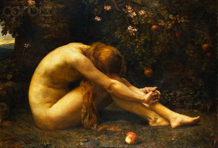 Eve in the Garden of Eden by Anna Lea Merritt