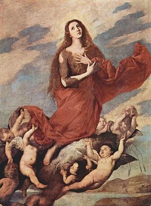 『マグダラのマリアの浄化』 ホセ・デ・リベーラ