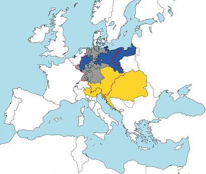 1820年のドイツ連邦
