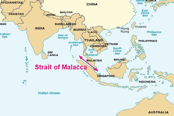 マラッカ海峡(Strait of Malacca)