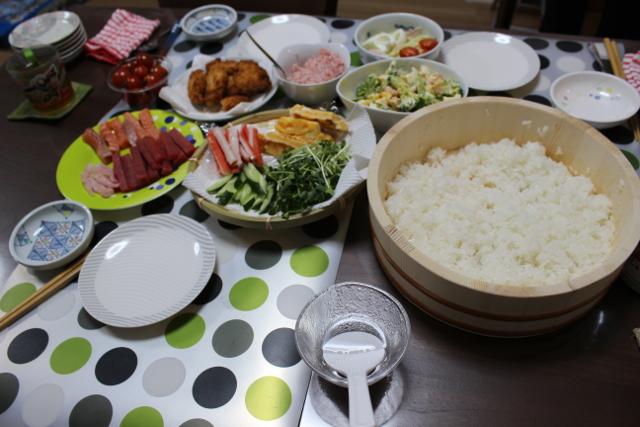 6歳の誕生日会の食事