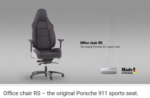 ポルシェオフィスチェアー_PO_911seat