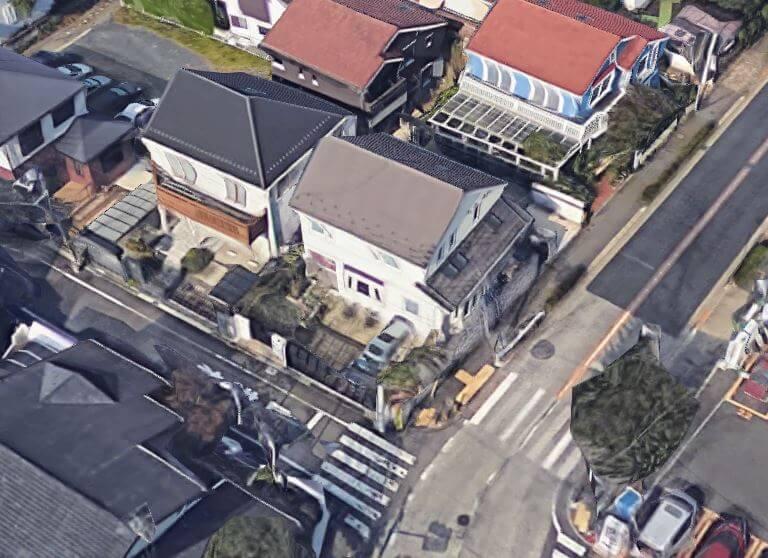 横浜銀行 小川空撮