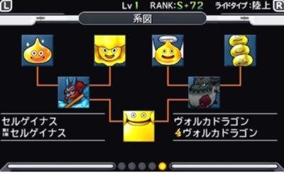 ジョーカー3 『ゴールデンスライム』 配合 作り方 配合表