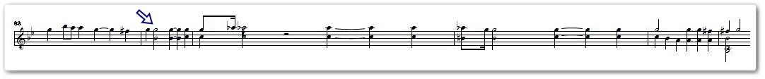 この重音好きッ♪だケド、重音弾くのキライッ!!というジレンマ。┏(_■_:)┓