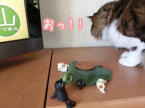 猫フィギュア~3