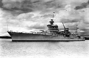 300px-USS_Indianapolis_(CA-35)_at_Pearl_Harbor,_circa_in_1937_(NH_53230)[1]