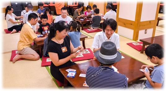 2015-08-23 親子お寿司ゲーム会の様子