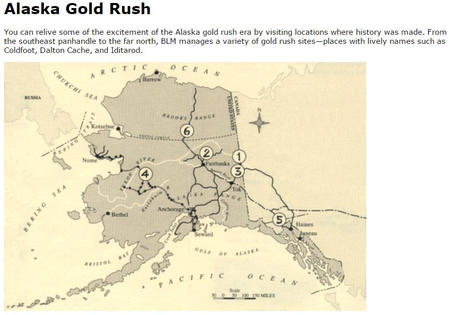 アラスカゴールドラッシュ