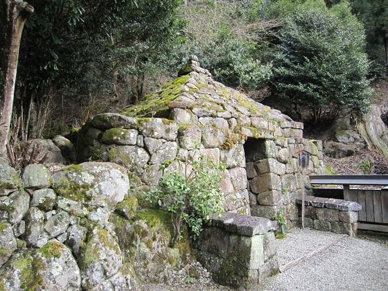 仏隆寺 石室