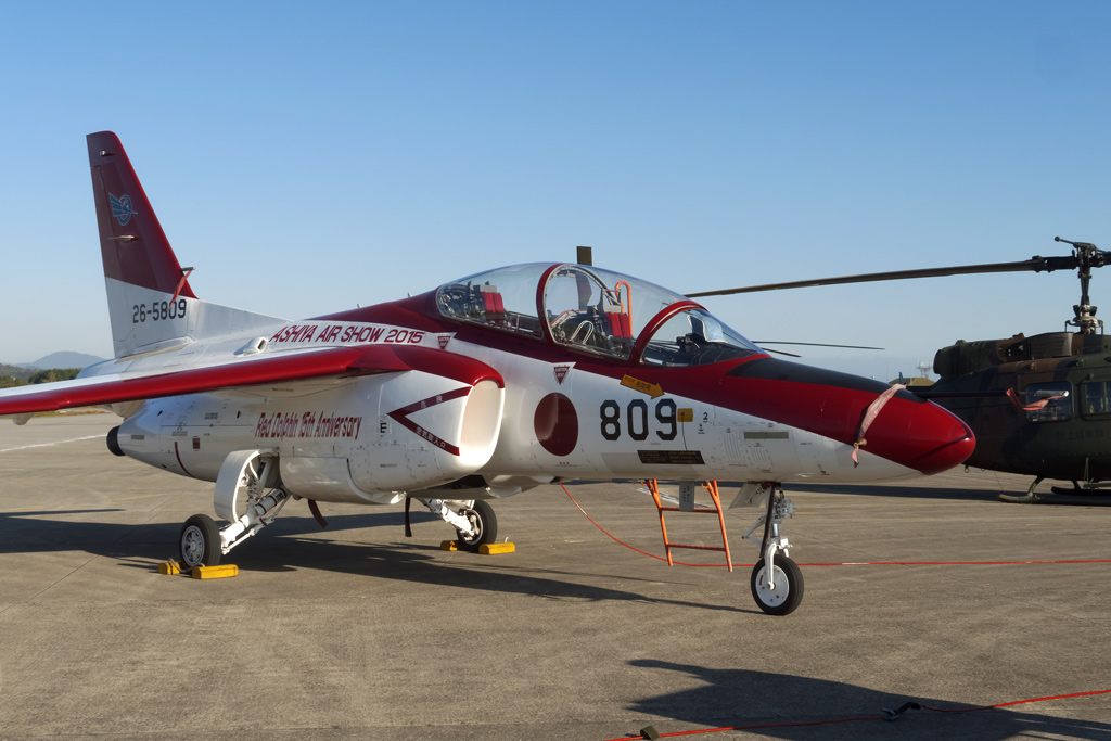 T-4 レッド 芦屋基地航空祭記念塗装機