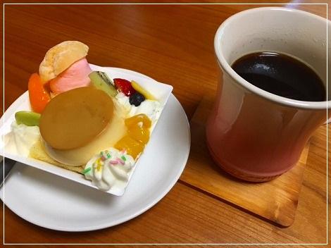 ケーキをイタダキマシタ!