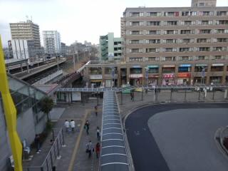 JR琵琶湖線南草津駅