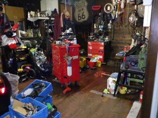 ガレージ整理整頓2 (3)