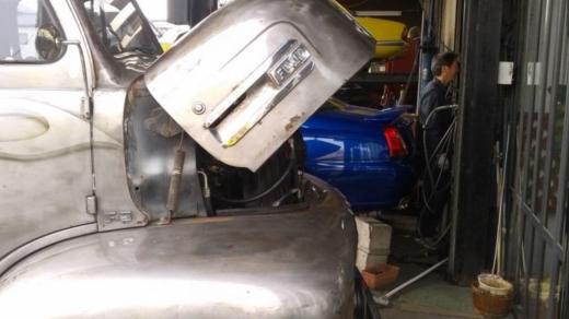 オルタブラケット修理 (2)