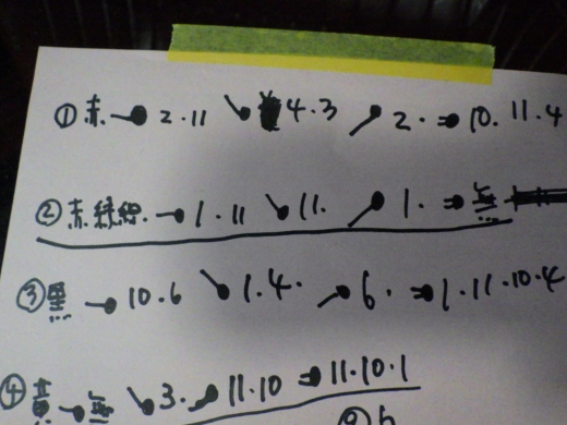 ウインカーレバーの配線辿る (34)