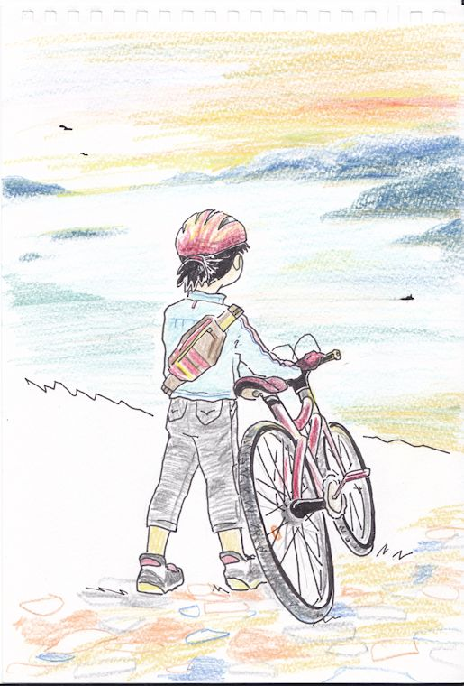 自転車ガールC