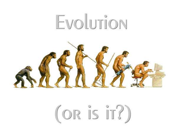 人類進化論