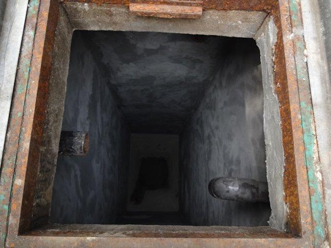 浄化槽内部 防水中
