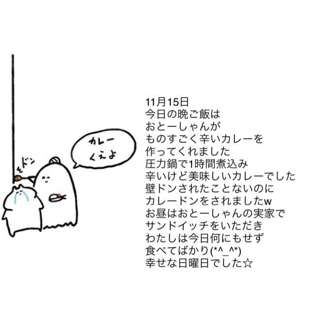 2015.11.15 今日の出来事