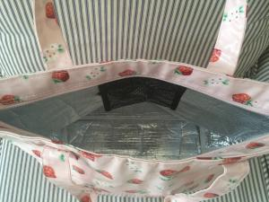 Pink Strawberry Bag